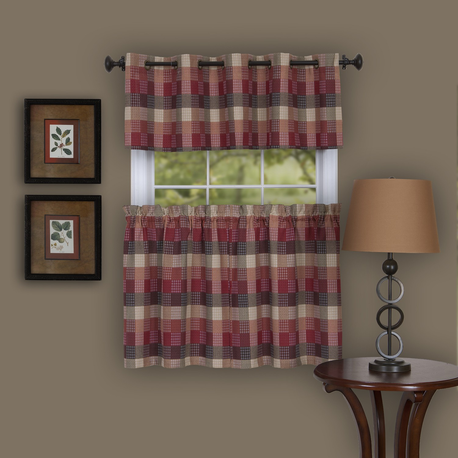 Harvard Window Curtain Tier Pair