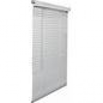 Lotus 1''  Cordless White Aluminum Blinds