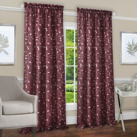 Chloe Rod Pocket Window Curtain Panel