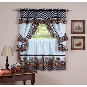 Mason Jars Printed Cottage Set