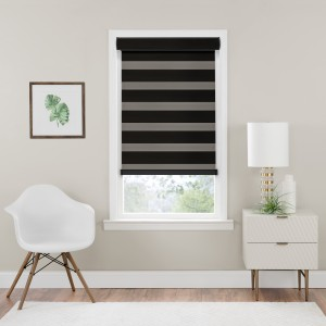 Cordless Celestial Room Darkening Double Layered Shade